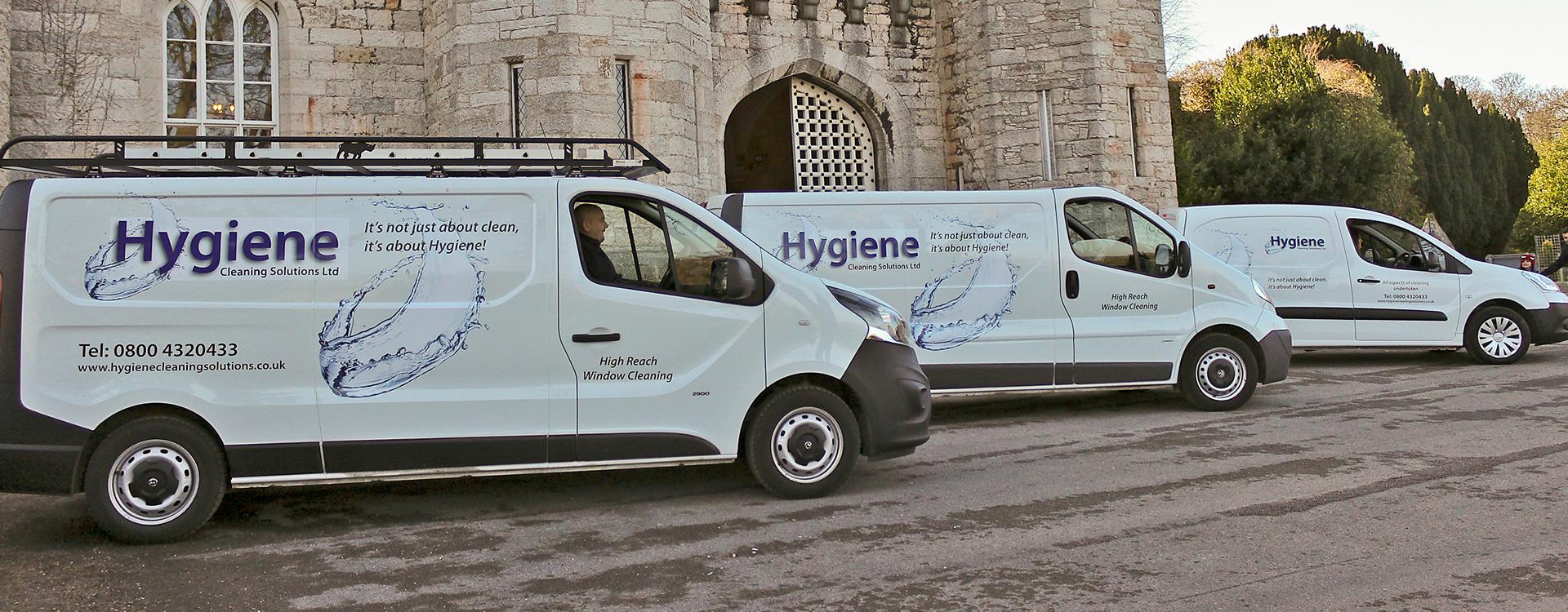 Hygiene Cleaning Vans Image