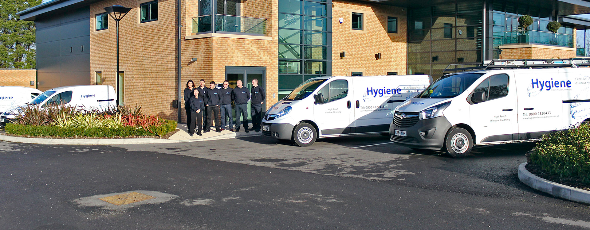Hygiene Cleaning Team Image