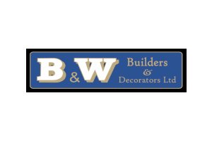 B & W Builders Logo