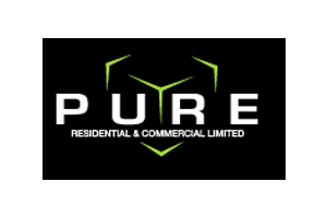 Pure residential logo