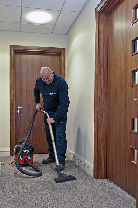 Office hoovering image