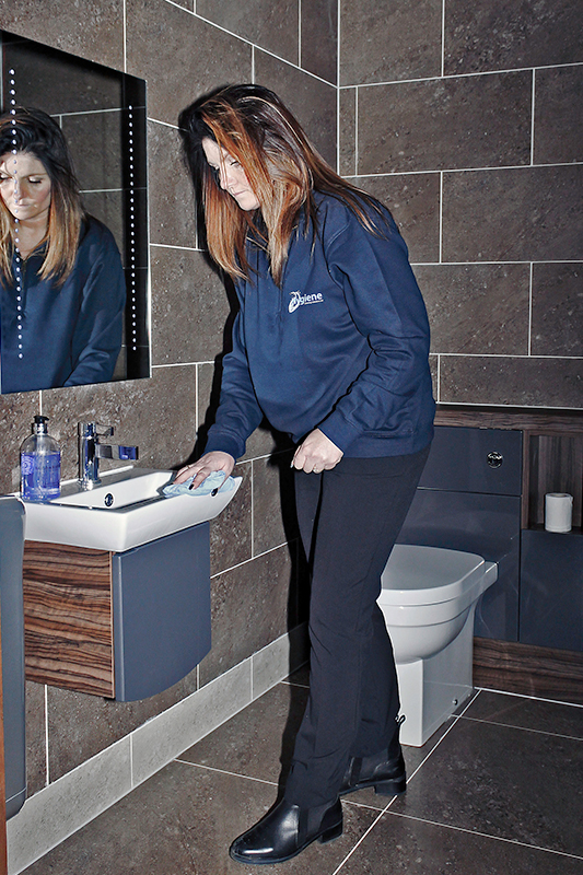 Sanitary cleaning image